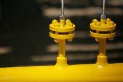 желтый цвет трубы Стоковые Фотографии RF