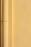 желтый цвет трубы Стоковое Изображение RF