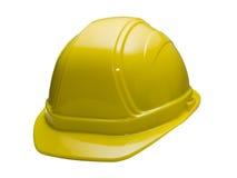 желтый цвет трудного шлема Стоковое Изображение RF