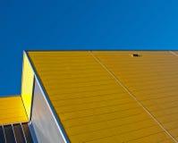 желтый цвет фасада Стоковое фото RF