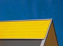 желтый цвет фасада Стоковое Изображение RF