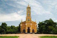 желтый цвет церков Стоковое Фото