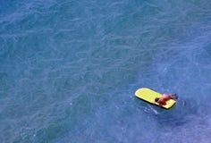 желтый цвет циновки Стоковое Изображение