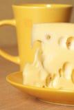 желтый цвет чашки сыра Стоковые Фото