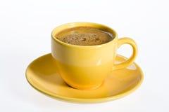желтый цвет чашки Стоковые Изображения