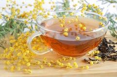 желтый цвет чая Стоковые Фотографии RF