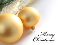 желтый цвет шариков предпосылки стеклянный хороший Стоковая Фотография RF
