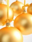 желтый цвет шариков предпосылки стеклянный хороший Стоковое Изображение