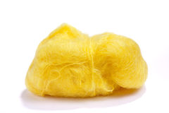 желтый цвет шерстей стоковые фотографии rf