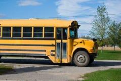 желтый цвет школы шины Стоковые Фото