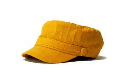 желтый цвет шлема Стоковые Изображения