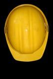 желтый цвет шлема Стоковые Изображения RF