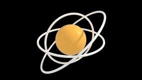 желтый цвет элемента белый Стоковые Фото