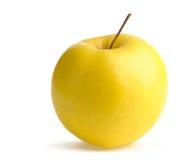 желтый цвет яблока зрелый Стоковое Изображение