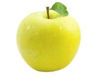 желтый цвет яблока Стоковое Фото