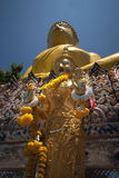 желтый цвет 6 большой Будда Стоковое Фото