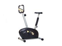 желтый цвет bike черный Стоковое Изображение RF