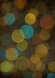 желтый цвет bokeh Стоковое Изображение RF