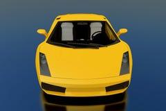 желтый цвет gallardo Стоковые Изображения