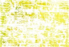 желтый цвет grunge предпосылки Стоковое Фото