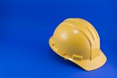 желтый цвет hardhat Стоковое Изображение RF