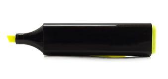 желтый цвет highlighter Стоковая Фотография RF