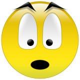 желтый цвет smiley Стоковая Фотография RF