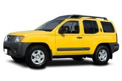 желтый цвет suv Стоковые Фотографии RF