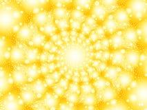 желтый цвет whirl Стоковые Изображения
