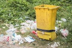 Желтый ящик Стоковые Изображения RF