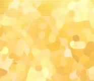 Желтым предпосылка запятнанная бежом Стоковое Изображение