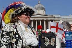 Жемчужные ферзи в квадрате Trafalgar Стоковое Фото