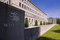 Женева, Швейцария, Всемирная Торговая Организация стоковое изображение
