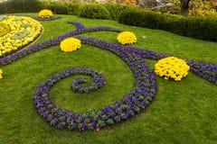 ЖЕНЕВА ШВЕЙЦАРИЯ: дизайн цветка часов новый Стоковое Изображение RF