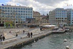 Женева, Швейцария Стоковые Фото