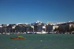 Женева, Swizerland Стоковое Фото
