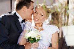 Жених и невеста Стоковое Изображение
