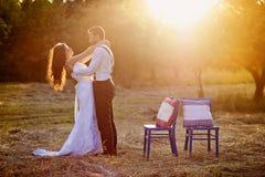 Жених и невеста стоковые изображения