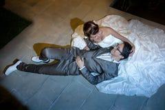 Жених и невеста Стоковые Изображения RF