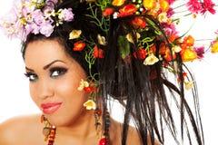 женская весна портрета Стоковые Фото