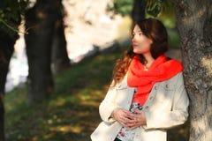 женская весна портрета Стоковая Фотография RF