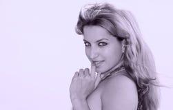 женская горячая латинская модель Стоковая Фотография RF