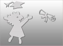 женская градация Стоковая Фотография RF