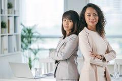 Женская команда дела Стоковые Изображения