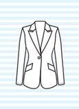 Женская куртка Стоковое фото RF