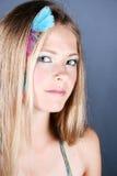 женская модель Стоковая Фотография