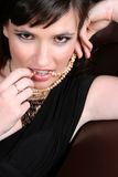 женская модель Стоковые Изображения RF
