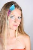 женская модель Стоковые Изображения