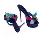 Женская обувь на пятке Стоковые Изображения RF