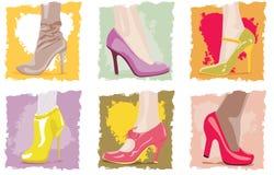 женская обувь Стоковое Фото